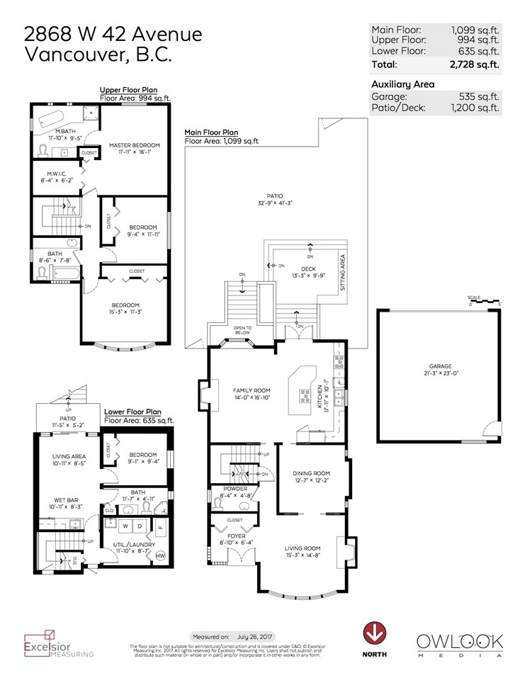 Detached at 2868 W 42ND AVENUE, Vancouver West, British Columbia. Image 20
