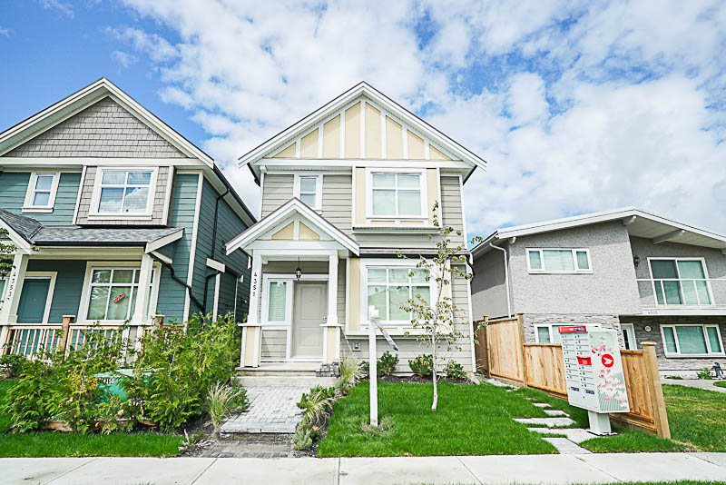 Townhouse at 4351 FLEMING STREET, Vancouver East, British Columbia. Image 1