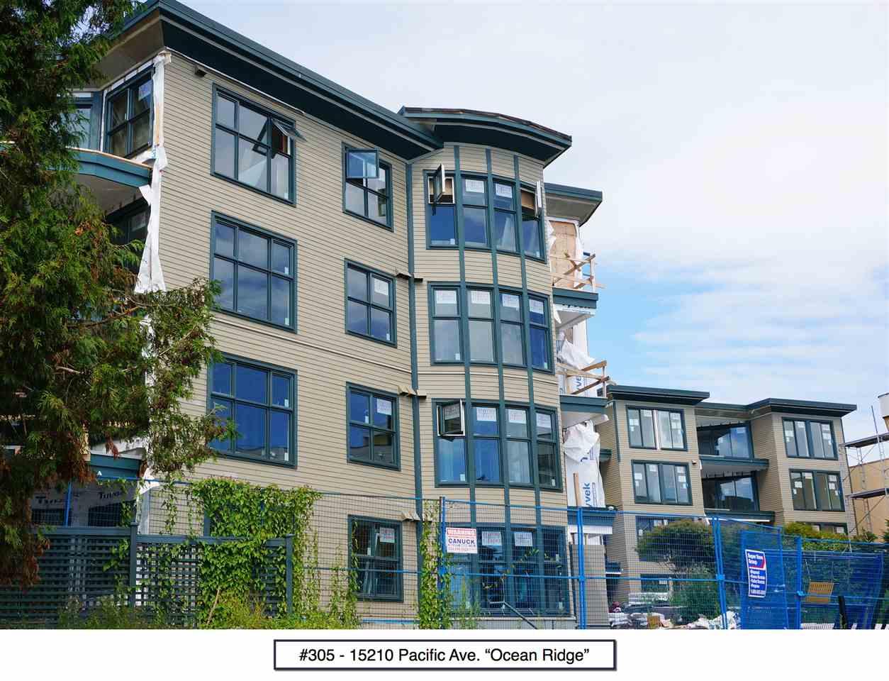 Condo Apartment at 305 15210 PACIFIC AVENUE, Unit 305, South Surrey White Rock, British Columbia. Image 1