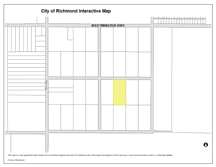 Vacant Land at LOT 22 WESTMINSTER HIGHWAY, Richmond, British Columbia. Image 1