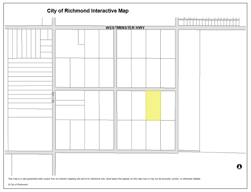 Vacant Land at LOT 23 WESTMINSTER HIGHWAY, Richmond, British Columbia. Image 1