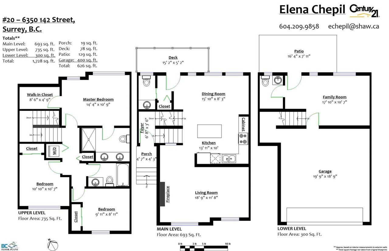 Townhouse at 20 6350 142 STREET, Unit 20, Surrey, British Columbia. Image 20