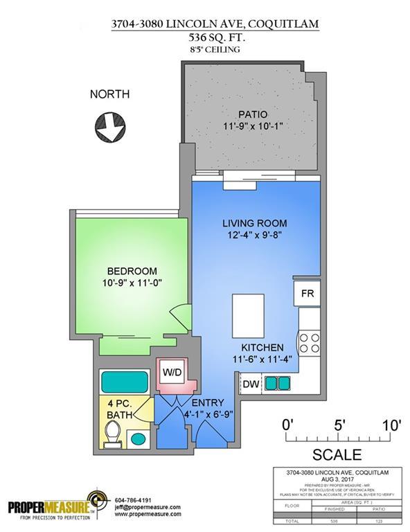 Condo Apartment at 3704 3080 LINCOLN AVENUE, Unit 3704, Coquitlam, British Columbia. Image 1
