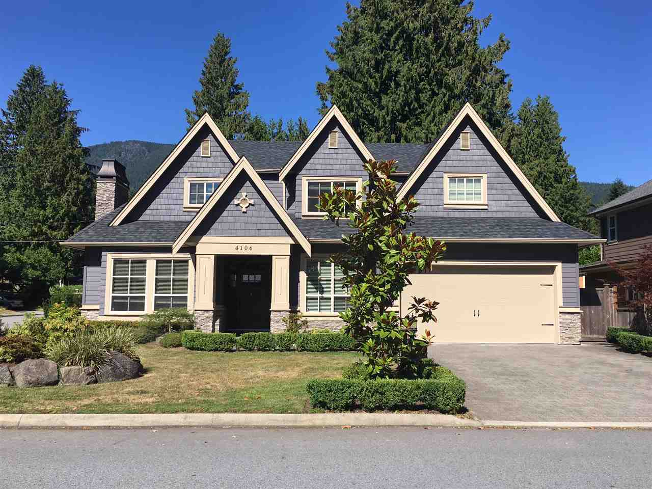 Detached at 4106 GRACE CRESCENT, North Vancouver, British Columbia. Image 1