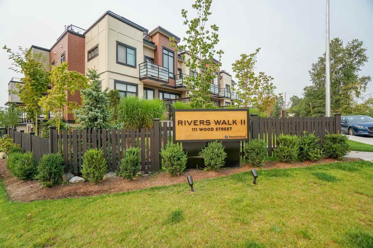 Townhouse at 8 111 WOOD STREET, Unit 8, New Westminster, British Columbia. Image 4