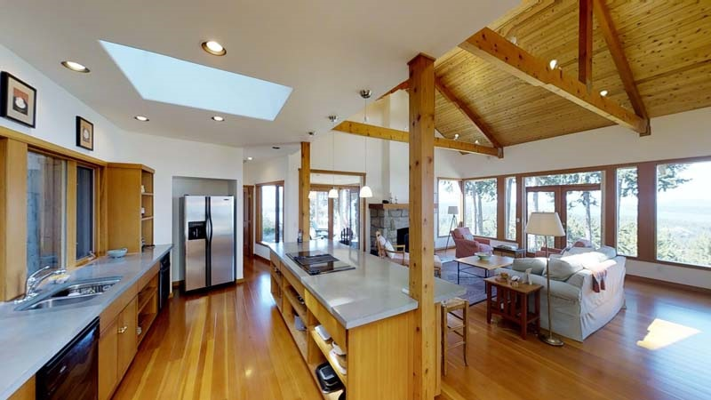 Detached at 285 NORTH VIEW PLACE, Islands-Van. & Gulf, British Columbia. Image 9