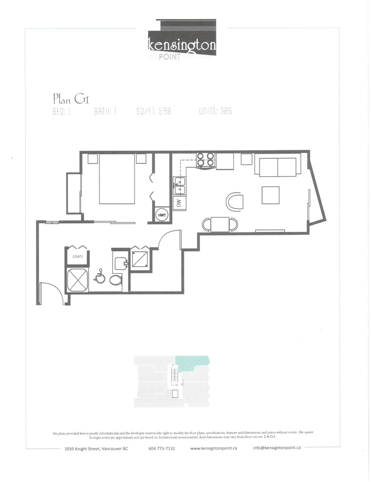 Condo Apartment at 306 3939 KNIGHT STREET, Unit 306, Vancouver East, British Columbia. Image 2