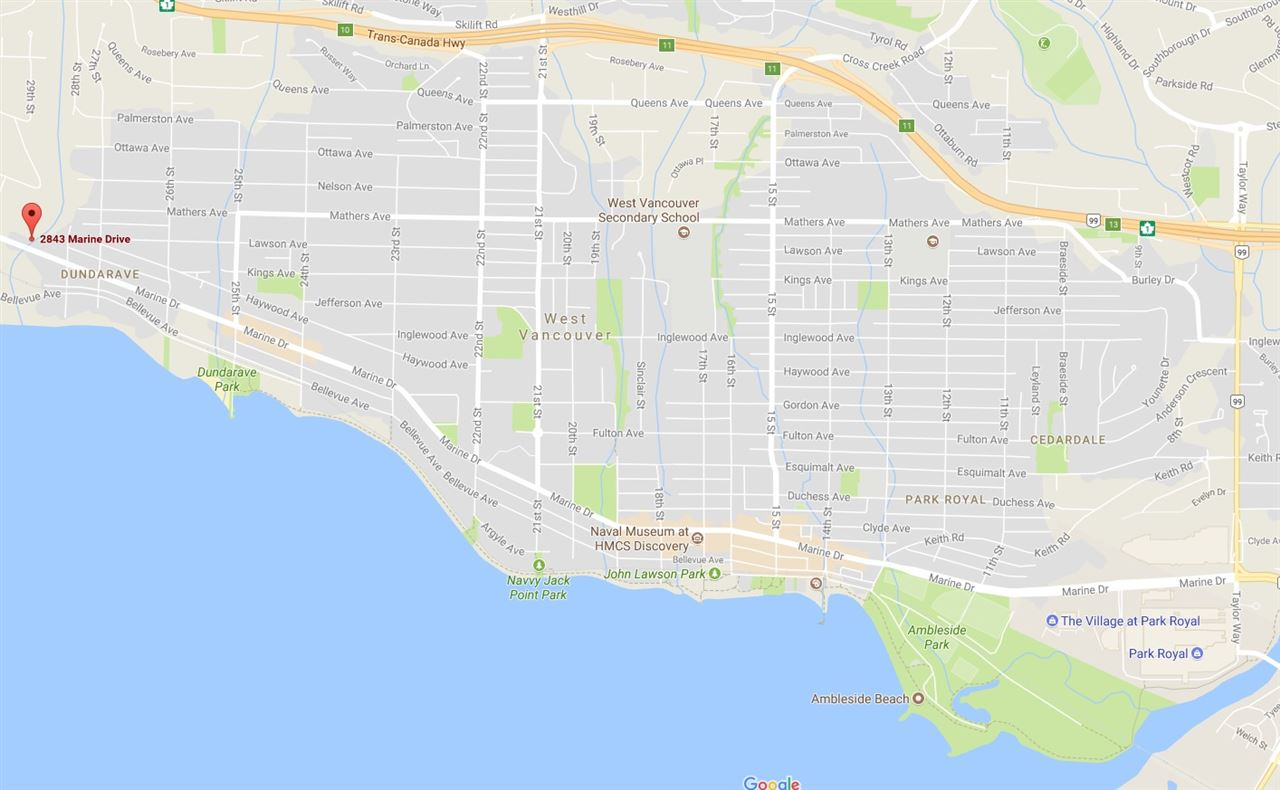 Detached at 2843 MARINE DRIVE, West Vancouver, British Columbia. Image 3