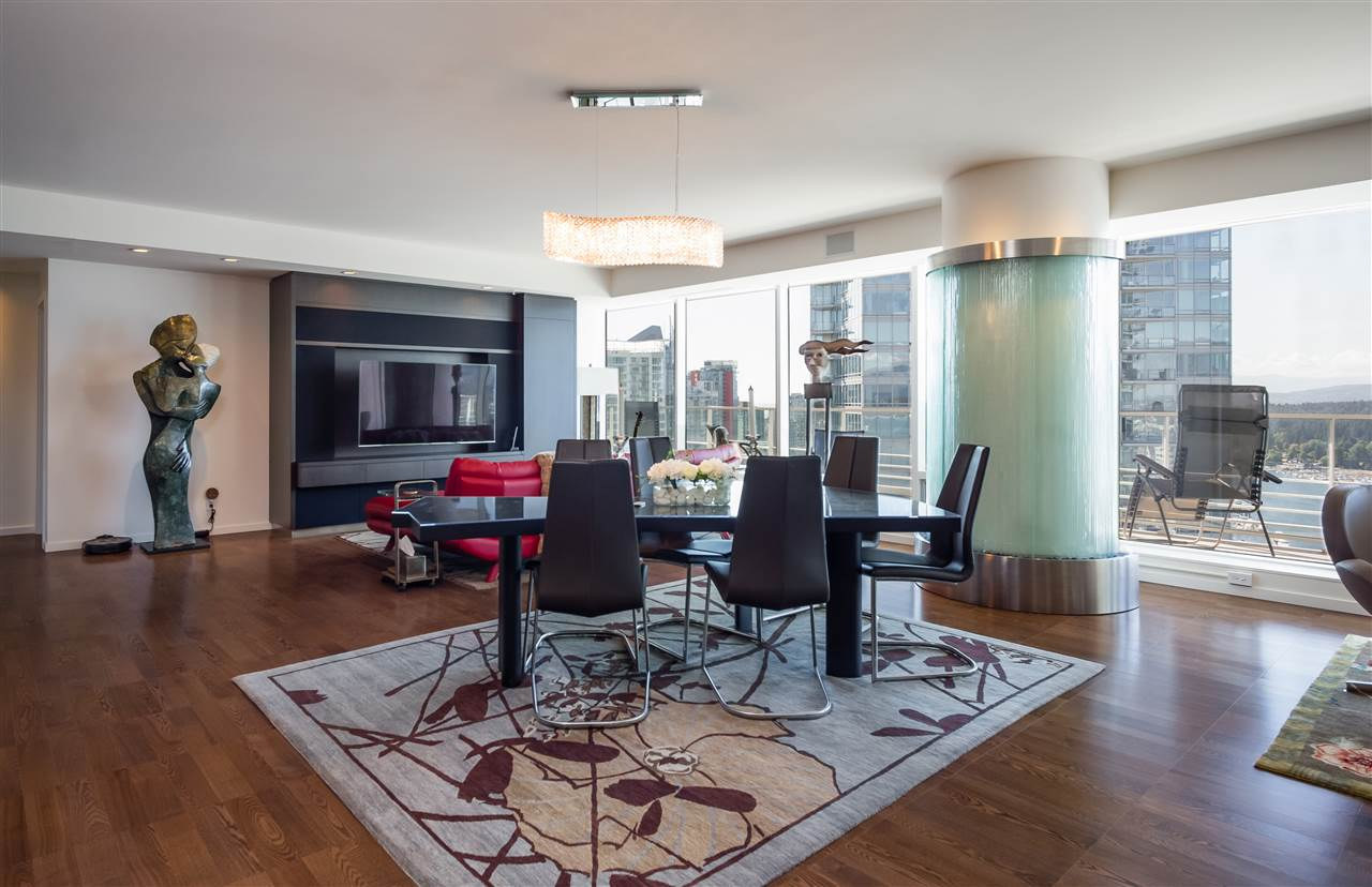 Condo Apartment at 3406 1011 W CORDOVA STREET, Unit 3406, Vancouver West, British Columbia. Image 4
