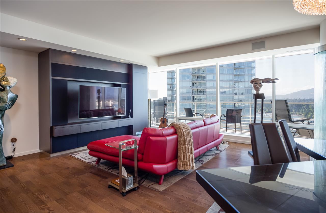 Condo Apartment at 3406 1011 W CORDOVA STREET, Unit 3406, Vancouver West, British Columbia. Image 5