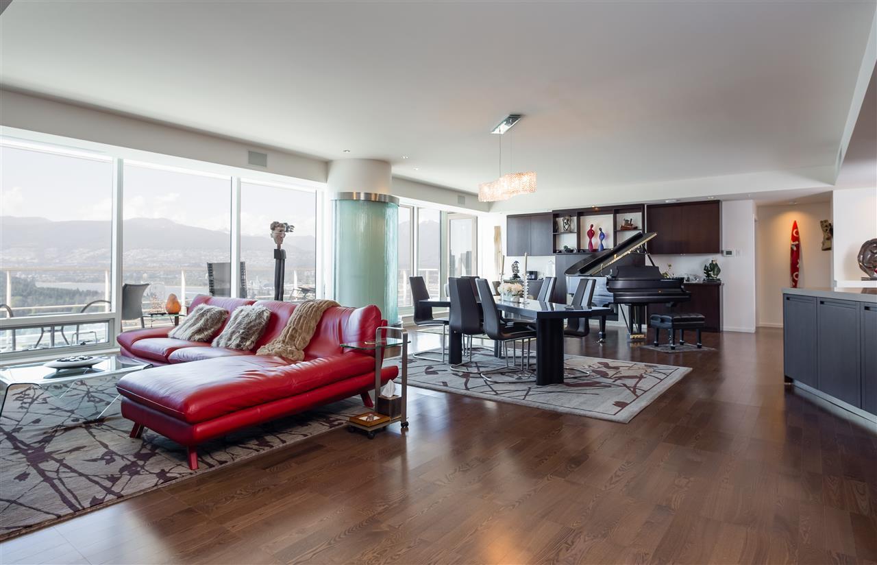 Condo Apartment at 3406 1011 W CORDOVA STREET, Unit 3406, Vancouver West, British Columbia. Image 6