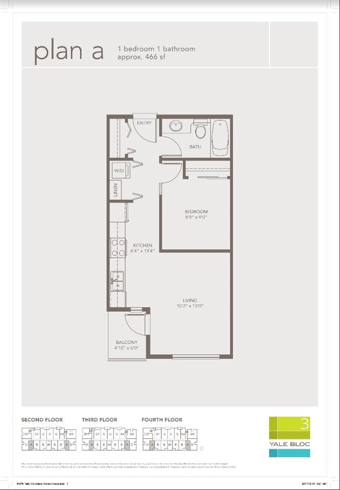 Condo Apartment at 303 19567 64 AVENUE, Unit 303, Cloverdale, British Columbia. Image 8