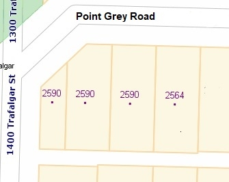 Detached at LOT 3 2590 POINT GREY ROAD, Unit LOT 3, Vancouver West, British Columbia. Image 9