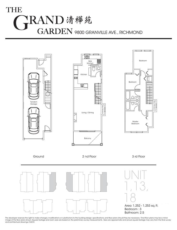 Townhouse at 1 9800 GRANVILLE AVENUE, Unit 1, Richmond, British Columbia. Image 6