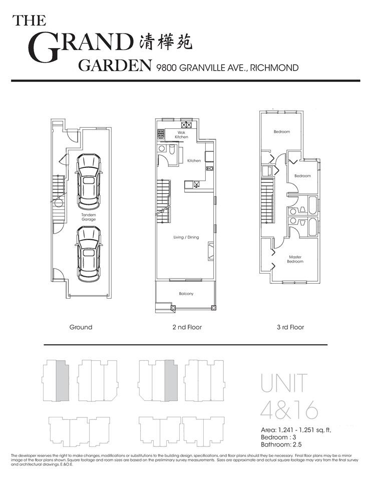 Townhouse at 1 9800 GRANVILLE AVENUE, Unit 1, Richmond, British Columbia. Image 9