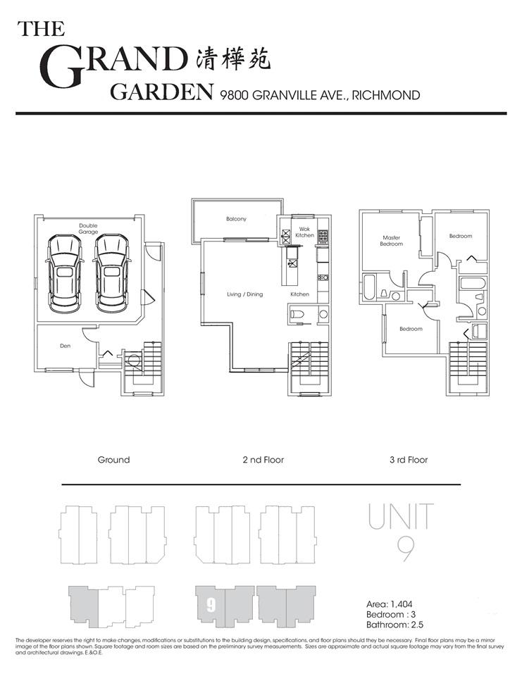 Townhouse at 1 9800 GRANVILLE AVENUE, Unit 1, Richmond, British Columbia. Image 12