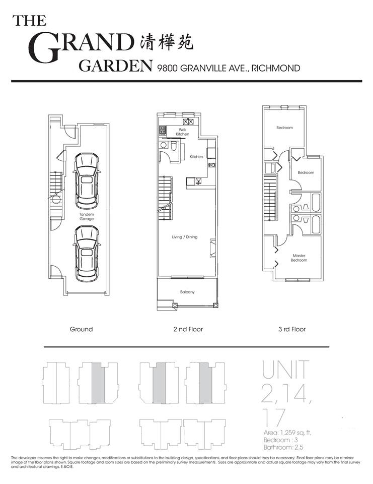 Townhouse at 17 9800 GRANVILLE AVENUE, Unit 17, Richmond, British Columbia. Image 7