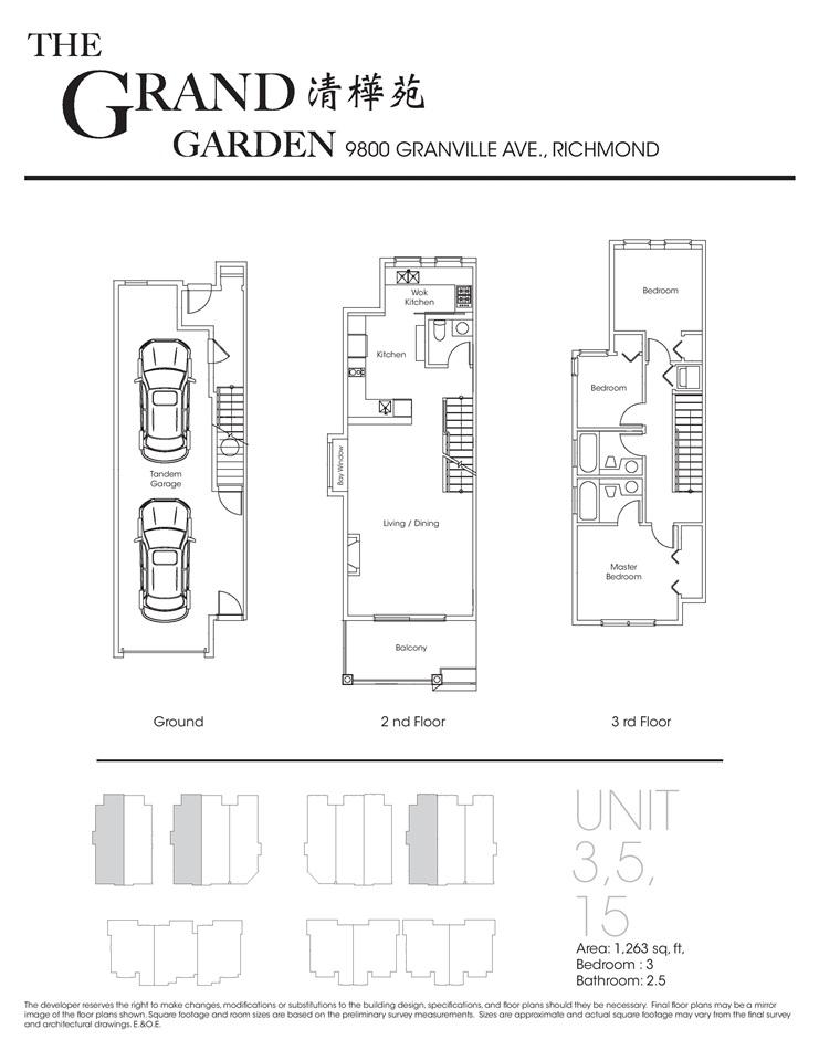 Townhouse at 17 9800 GRANVILLE AVENUE, Unit 17, Richmond, British Columbia. Image 8