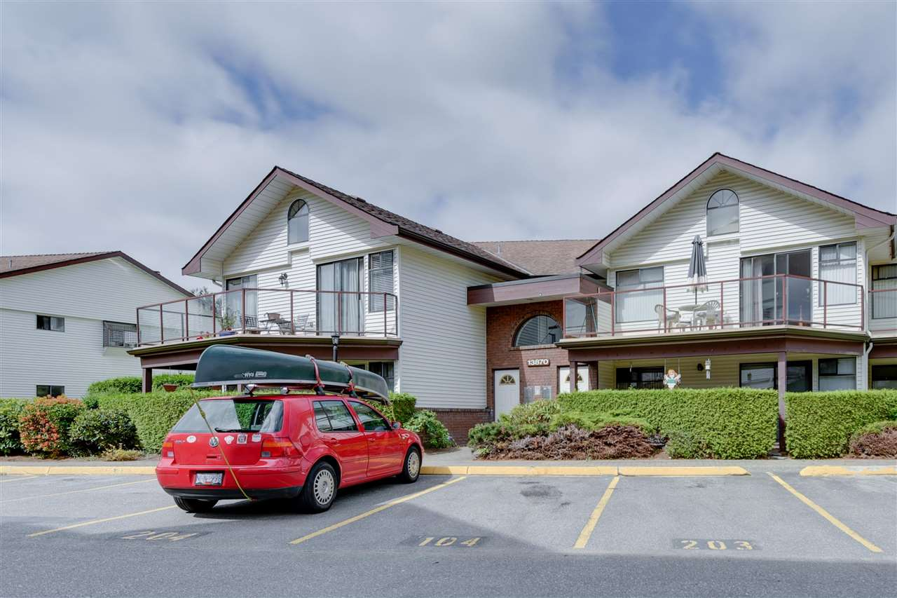 Townhouse at 203 13870 102 AVENUE, Unit 203, North Surrey, British Columbia. Image 1