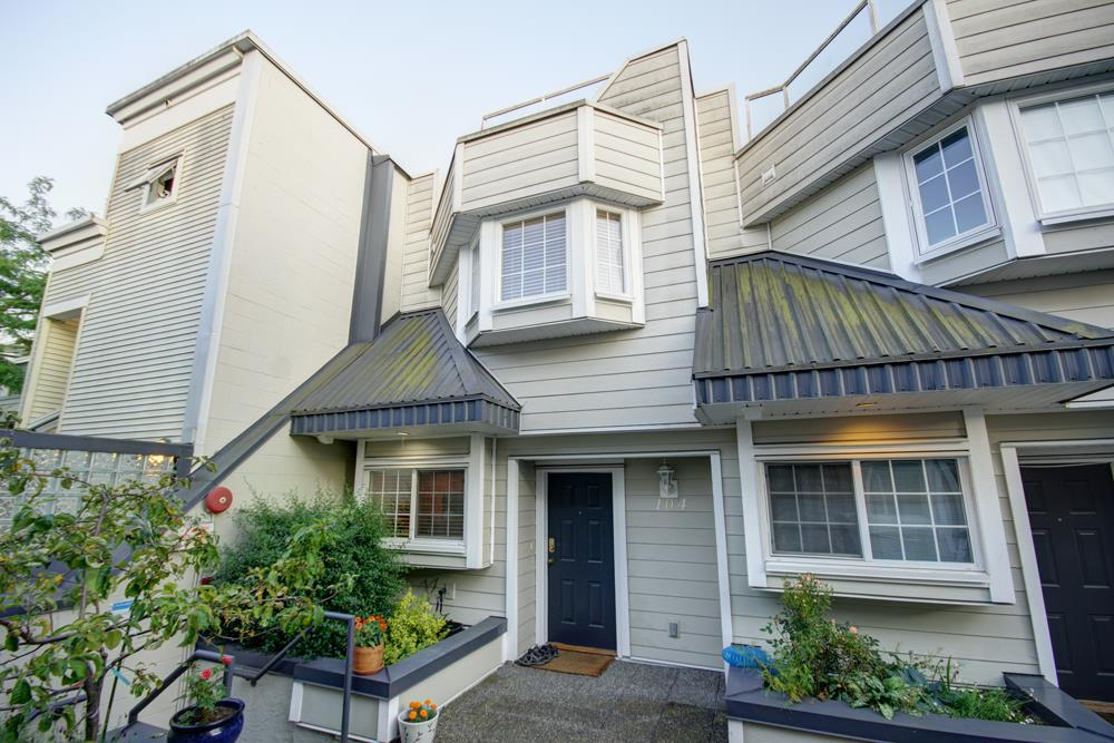 Townhouse at 104 3753 W 10TH AVENUE, Unit 104, Vancouver West, British Columbia. Image 1