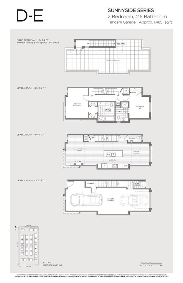 Townhouse at 155 2280 163 STREET, Unit 155, South Surrey White Rock, British Columbia. Image 17