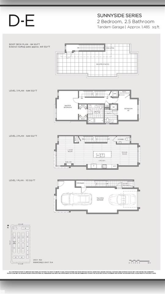 Townhouse at 155 2280 163 STREET, Unit 155, South Surrey White Rock, British Columbia. Image 19