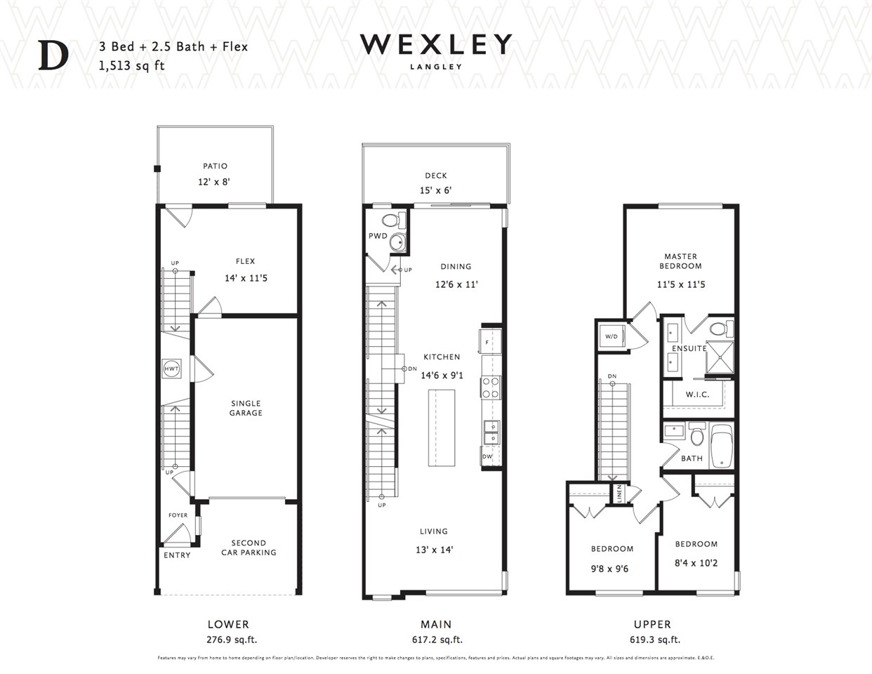Townhouse at 35 20857 77A AVENUE, Unit 35, Langley, British Columbia. Image 13