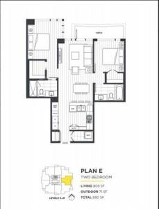 Condo Apartment at 908 1188 PINETREE WAY, Unit 908, Coquitlam, British Columbia. Image 20