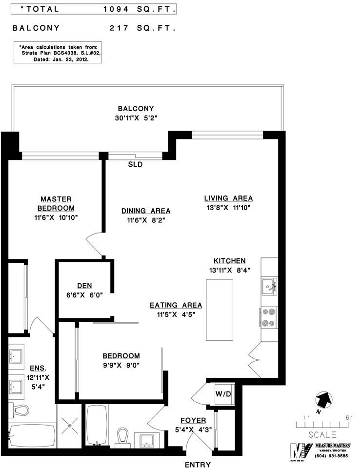 Condo Apartment at 408 4355 W 10TH AVENUE, Unit 408, Vancouver West, British Columbia. Image 20