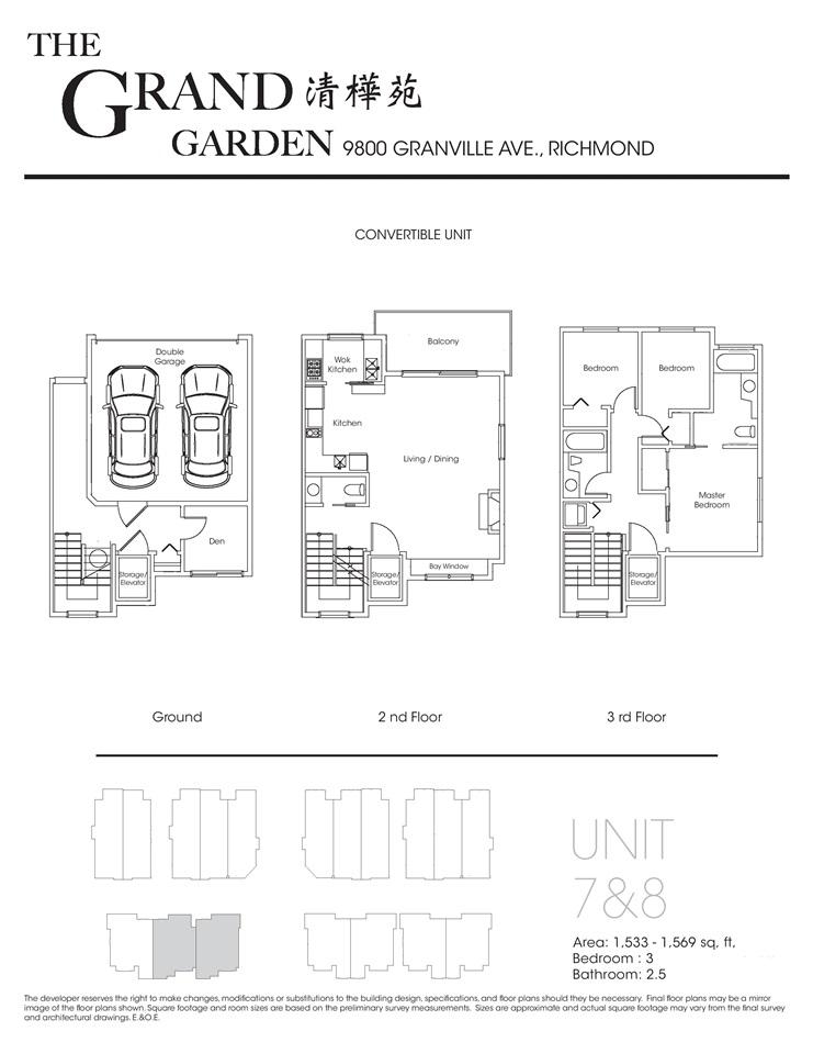 Townhouse at 11 9800 GRANVILLE AVENUE, Unit 11, Richmond, British Columbia. Image 11
