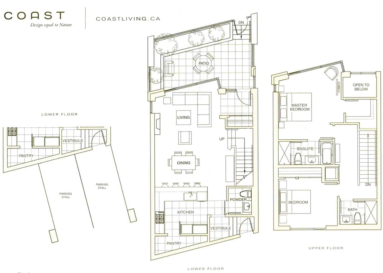 Townhouse at 6076 CHANCELLOR MEWS, Vancouver West, British Columbia. Image 2