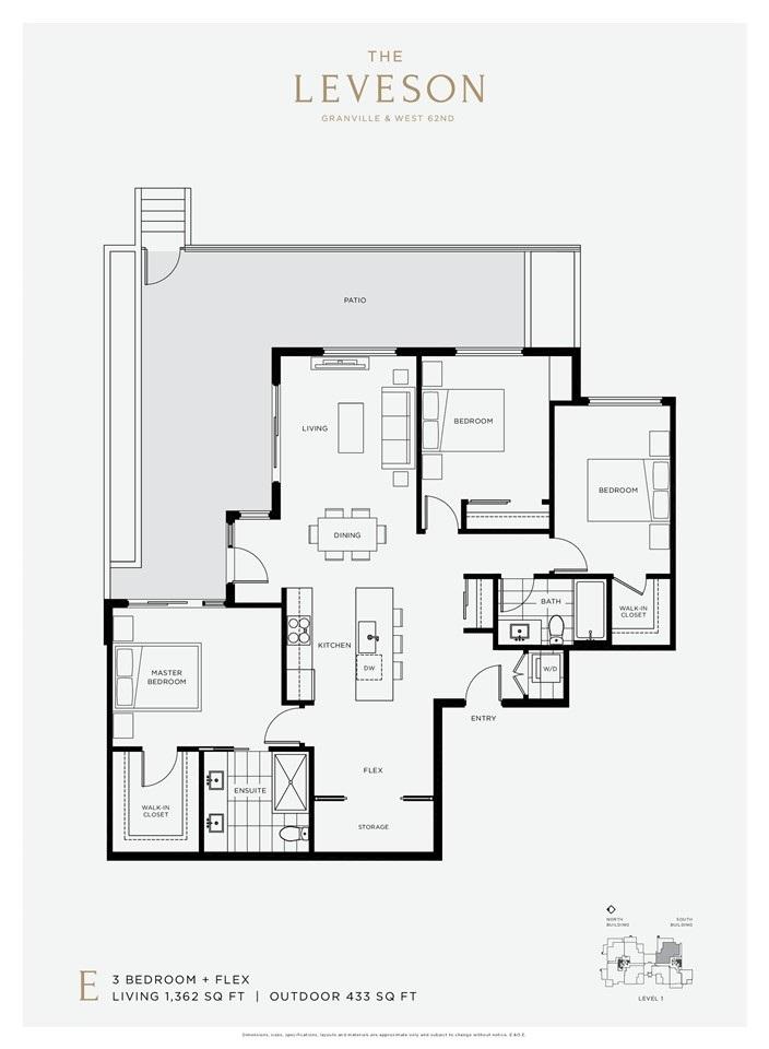 Condo Apartment at S104 7828 GRANVILLE STREET, Unit S104, Vancouver West, British Columbia. Image 8