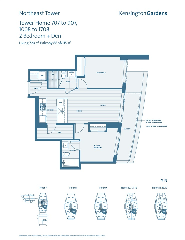 Condo Apartment at 1708 2220 KINGSWAY, Unit 1708, Vancouver East, British Columbia. Image 3