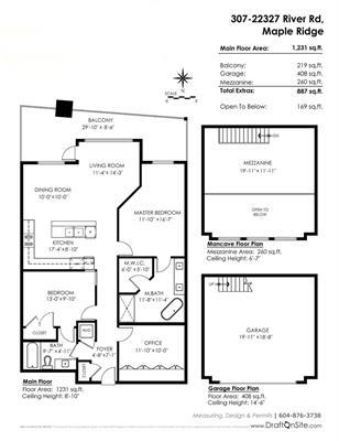 Condo Apartment at 307 22327 RIVER ROAD, Unit 307, Maple Ridge, British Columbia. Image 20