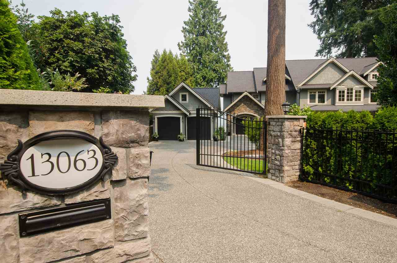 Detached at 13063 CRESCENT ROAD, South Surrey White Rock, British Columbia. Image 1