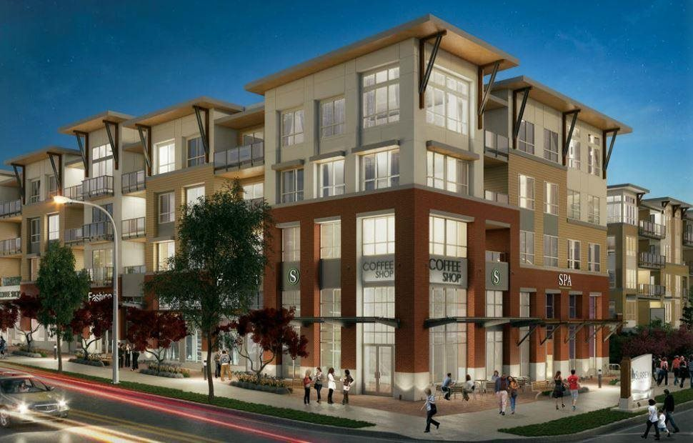 Condo Apartment at 415 6438 195A STREET, Unit 415, Cloverdale, British Columbia. Image 1
