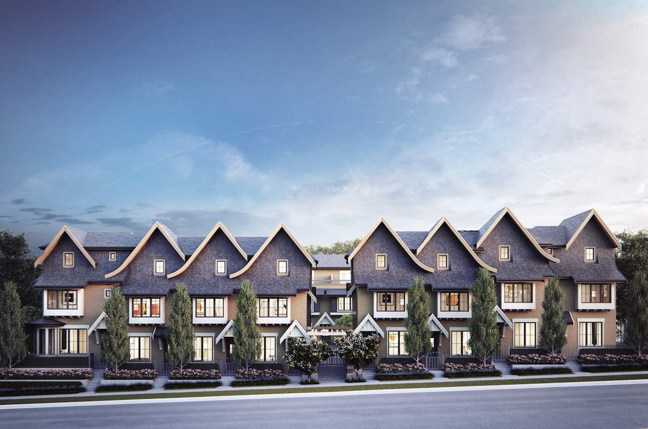 Townhouse at 8131 SHAUGHNESSY STREET, Vancouver West, British Columbia. Image 1