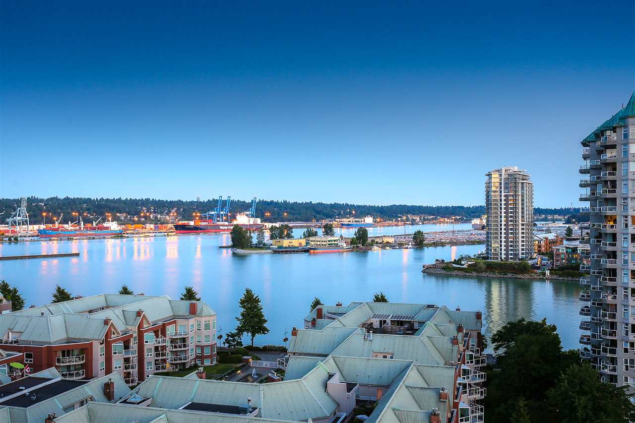 Condo Apartment at 1502 1245 QUAYSIDE DRIVE, Unit 1502, New Westminster, British Columbia. Image 19