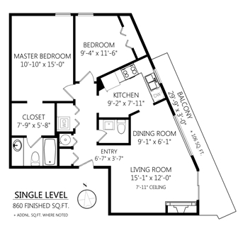 Condo Apartment at 301 1068 TOLMIE AVENUE, Unit 301, Out of Town, British Columbia. Image 18