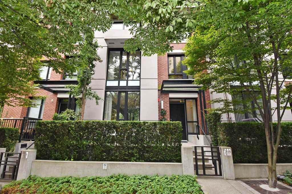 Townhouse at 318 SMITHE STREET, Vancouver West, British Columbia. Image 1