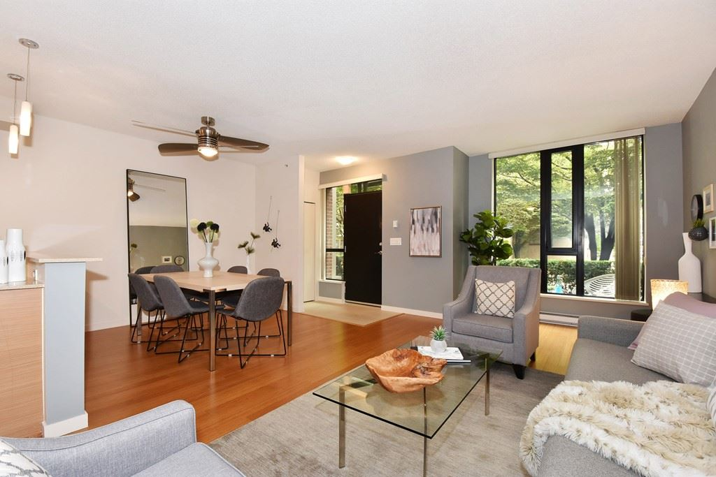 Townhouse at 318 SMITHE STREET, Vancouver West, British Columbia. Image 5