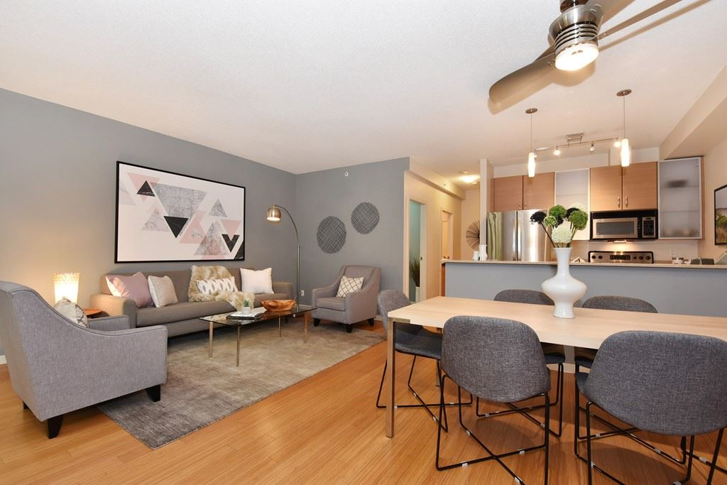 Townhouse at 318 SMITHE STREET, Vancouver West, British Columbia. Image 7