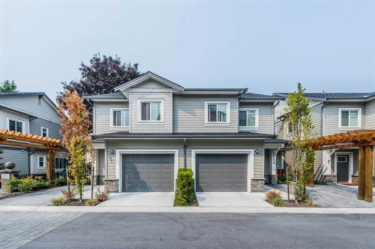 Townhouse at 8 6711 WILLIAMS ROAD, Unit 8, Richmond, British Columbia. Image 1