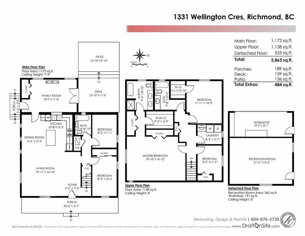Detached at 1331 WELLINGTON CRESCENT, Richmond, British Columbia. Image 20