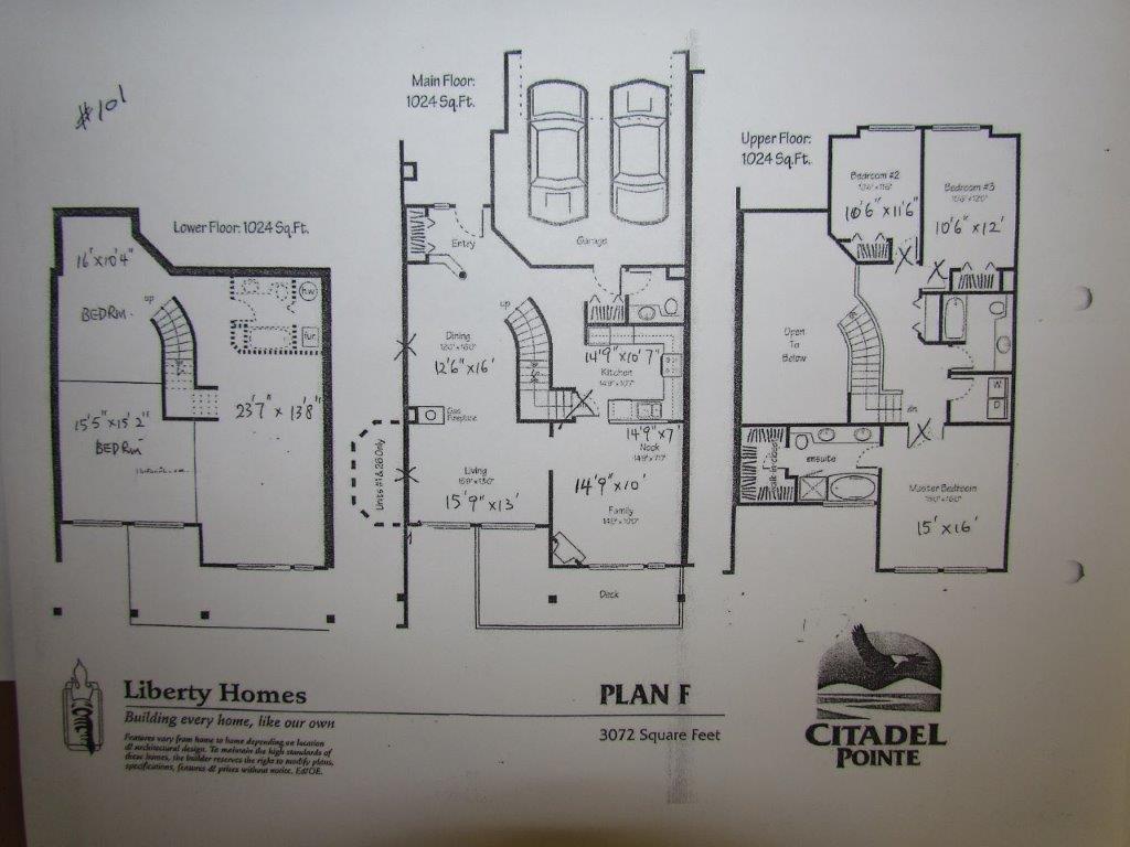 Townhouse at 101 678 CITADEL DRIVE, Unit 101, Port Coquitlam, British Columbia. Image 20