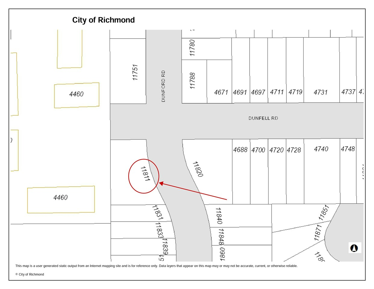 Detached at 11811 DUNFORD ROAD, Richmond, British Columbia. Image 1