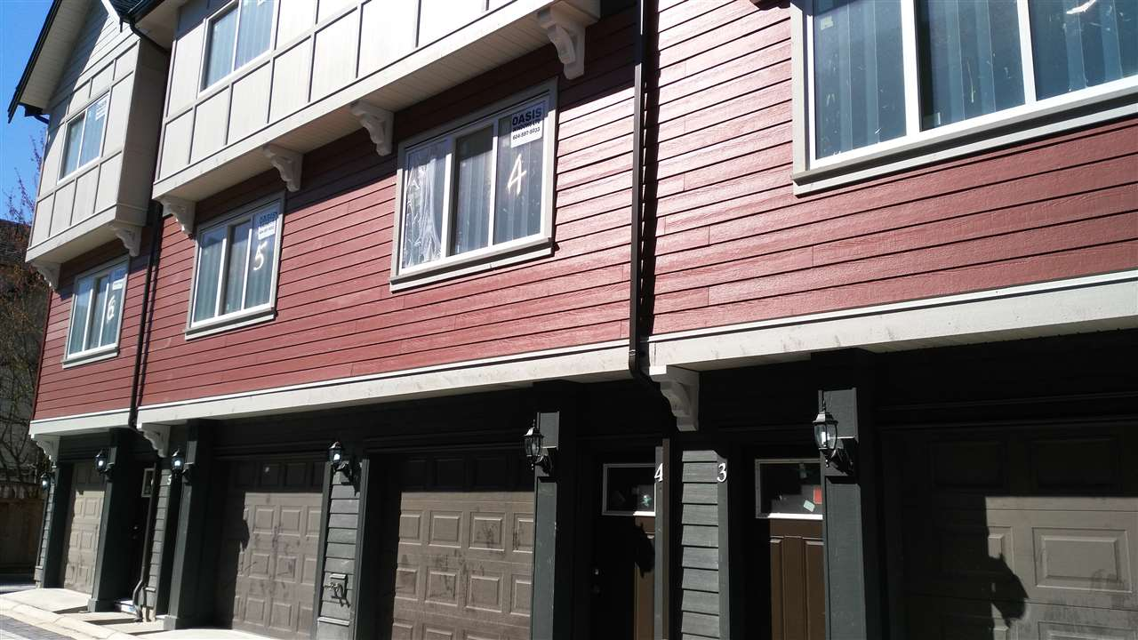 Townhouse at 4 8560 JONES ROAD, Unit 4, Richmond, British Columbia. Image 1