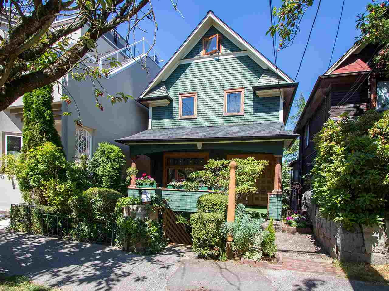 Detached at 1245 W 7TH AVENUE, Vancouver West, British Columbia. Image 1