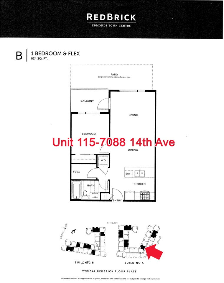 Condo Apartment at 115 7088 14TH AVENUE, Unit 115, Burnaby East, British Columbia. Image 16