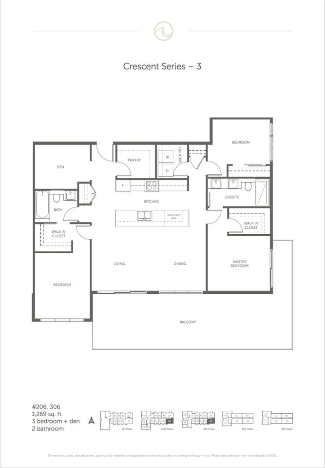 Condo Apartment at 206 14022 NORTH BLUFF ROAD, Unit 206, South Surrey White Rock, British Columbia. Image 10